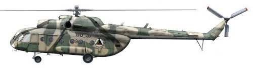 Mi-8 Hip (1st Gen) in Afghan Air Force - Helicopter Database